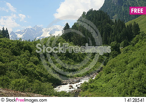 Free The Alps Stock Image - 14128541
