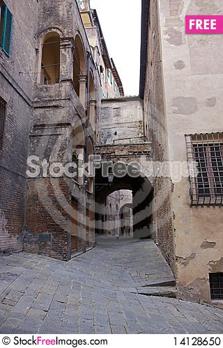 Free Old Street In Tuscany Stock Photo - 14128650
