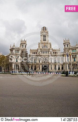 Free Communication Palace Royalty Free Stock Photo - 14128755