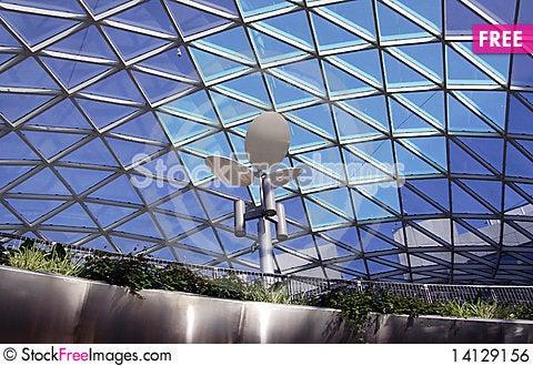 Free Modern Building  Interior Royalty Free Stock Image - 14129156