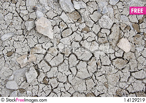Free Cracked Ground Texture Royalty Free Stock Images - 14129219