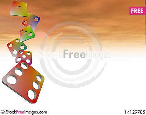 Free Dice Illustration Royalty Free Stock Photo - 14129785