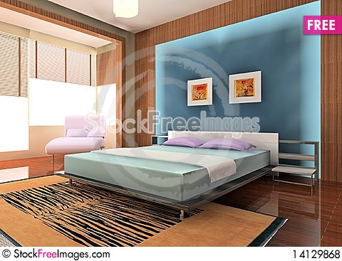 Free Bedroom Royalty Free Stock Photos - 14129868