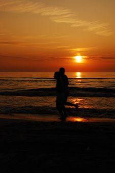 Free Sunrise Jog Stock Image - 14120021