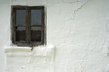 Old Window And Wall Stock Photography