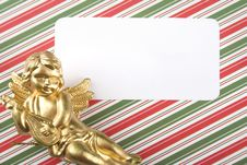 Invitation To The Day An Angel Royalty Free Stock Photos