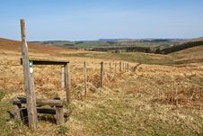 Free Stile In Northumbrian Landscape Stock Photo - 14121730