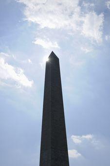 Free Washington Monument Royalty Free Stock Photography - 14121857