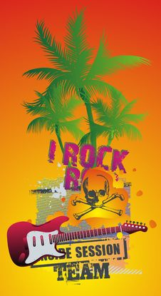 Free Rock N Roll Royalty Free Stock Images - 14121909