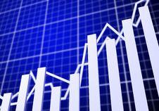 Chart Statistics Stock Image