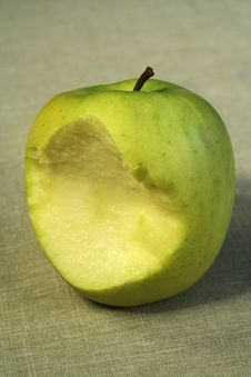 Free Bitten Apple Stock Image - 14122141