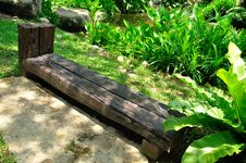Free Wooden Bench Royalty Free Stock Image - 14122526