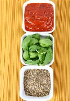 Free Italian Cuisine Ingredients Stock Photo - 14123290