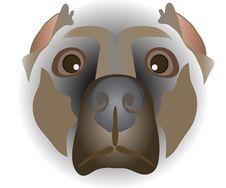 Muzzle Of Dog Royalty Free Stock Image