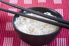Free Rice Bowl Royalty Free Stock Image - 14125096
