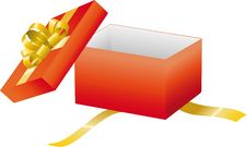 Free Red Open Gift Box Royalty Free Stock Photography - 14125237
