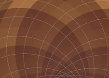 Free Brown Spiral Background Stock Images - 14125644
