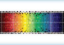 Rainbow Burst Background Royalty Free Stock Image