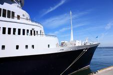 Free Vessel In Port Stock Image - 14125701