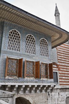 Turkey, Istanbul, Topkapi Palace Stock Image