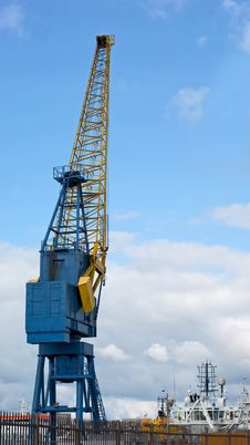 Free Dockside Crane Stock Photos - 14125973