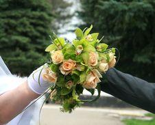 Free Bridal Bouquet Royalty Free Stock Photos - 14126078