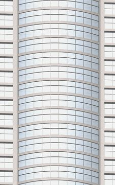 Free Wall Of A Modern Building (3D). Stock Images - 14126444