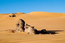 Algeria Sahara Desert Landscape Stock Images
