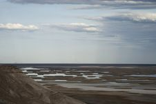 Free Sudochie Lake, Usturt Plateau Stock Photos - 14126733