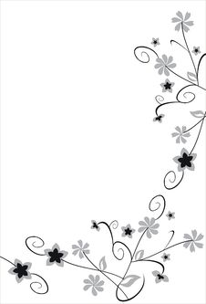Free Floral Elements Royalty Free Stock Photos - 14127338