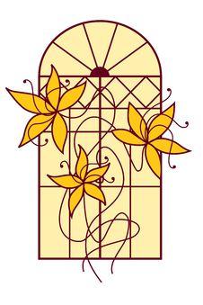 Free Window Flowers Stock Photo - 14128080