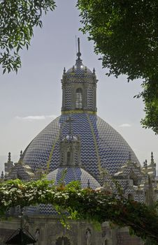 Dome And Cupola Of A Basilica Stock Image