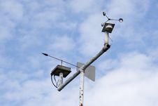 Weather Instruments Stock Image