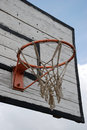 Free Basketball Backboard And Goal Royalty Free Stock Photos - 14131178