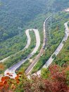 Free The Winding Mountain Road Bend Stock Image - 14133071