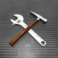 Free Tools Set Royalty Free Stock Photography - 14134837