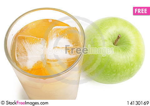 Free Apple And Juice Royalty Free Stock Images - 14130169