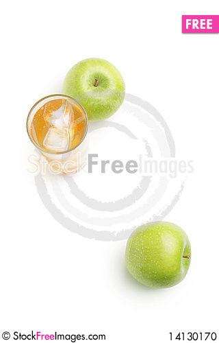 Free Apple And Juice Stock Photo - 14130170