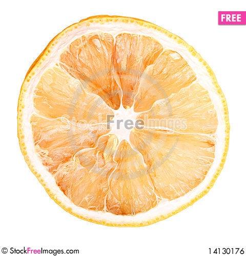 Free Dried Orange Royalty Free Stock Image - 14130176