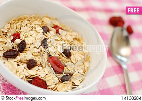 Free Nutritious Oatmeal Stock Images - 14130284