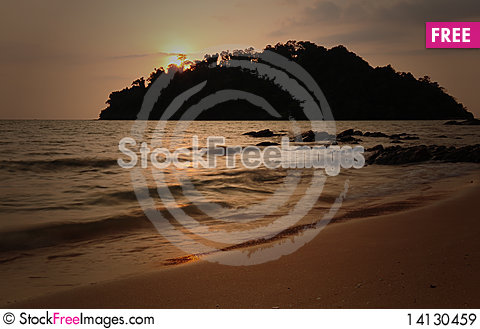 Free Beach Royalty Free Stock Images - 14130459