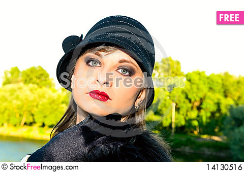 Free Retro Woman Royalty Free Stock Image - 14130516