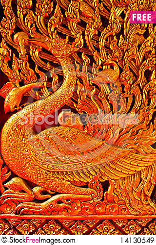 Free Holy Bird Statue Royalty Free Stock Images - 14130549