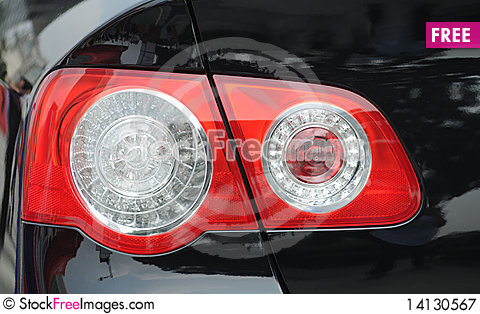 Free Taillight Royalty Free Stock Photography - 14130567