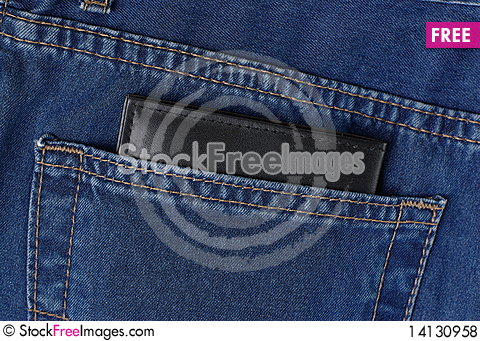 Free Wallet In Jeans Pocket Royalty Free Stock Photos - 14130958