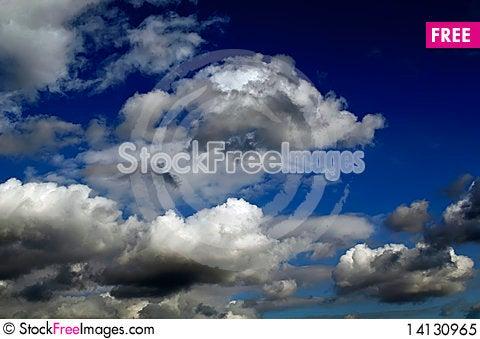 Free Beautiful Sky Royalty Free Stock Photo - 14130965