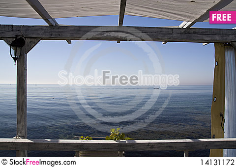 Free Sea From A Frame Stock Photography - 14131172