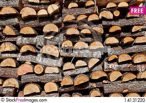 Free Pile Of Wood Stock Photo - 14131220