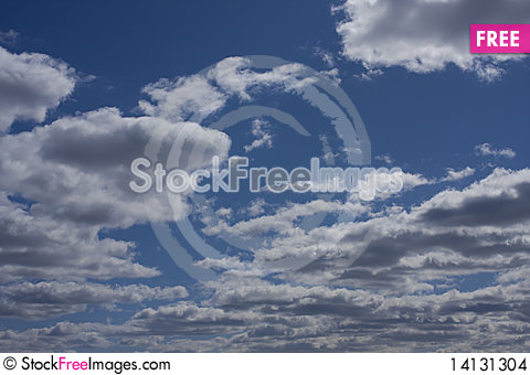 Free Sky And Clouds Stock Images - 14131304