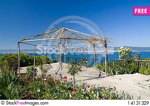 Free Nesebar Terrace Royalty Free Stock Images - 14131329